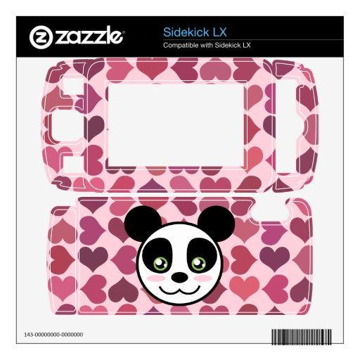 """Amor de la panda "" Calcomanía Para Sidekick LX"