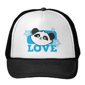 Amor de la panda gorro de camionero