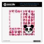 """Amor de la panda "" HTC Touch Diamond Skins"