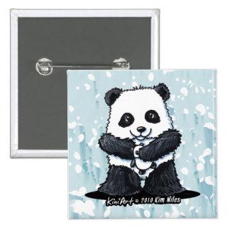 Amor de la panda pins