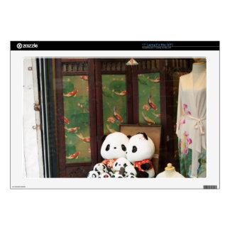 Amor de la panda portátil calcomanías