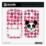 """""""Amor de la panda """" Samsung Freeform Skin"""
