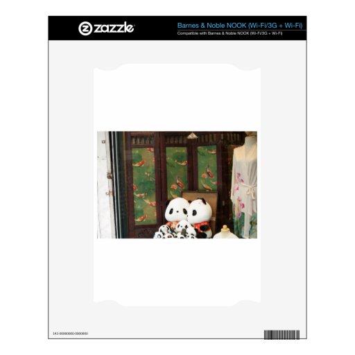 Amor de la panda skins para elNOOK