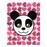 """""""Amor de la panda """" Tarjeta Publicitaria"""