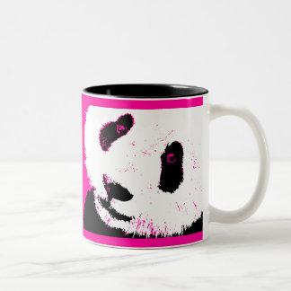 amor de la panda taza dos tonos