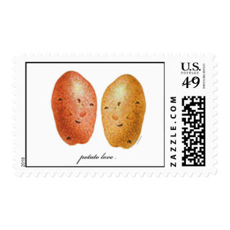 Amor de la patata franqueo
