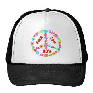 amor de la paz 80s gorra