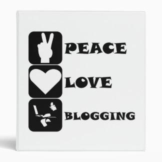 Amor de la paz Blogging