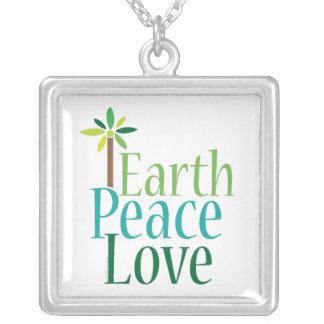 Amor de la paz de la tierra grimpola personalizada