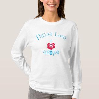 ¡Amor de la paz de los chicas de n del SORBO '!  Playera
