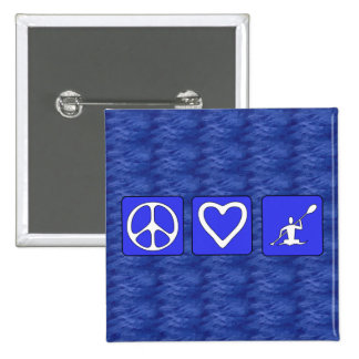 Amor de la paz Kayaking Pins