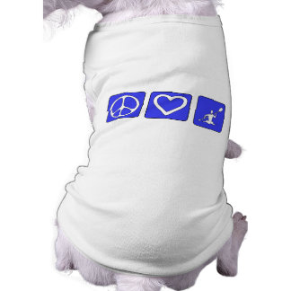 Amor de la paz Kayaking Ropa Para Mascota