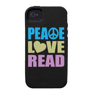 Amor de la paz leído vibe iPhone 4 fundas
