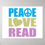 Amor de la paz leído impresiones