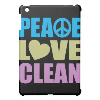 Amor de la paz limpio