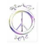 amor de la paz postales