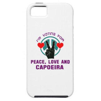 Amor de la paz y Capoeira. iPhone 5 Carcasa
