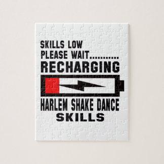 Amor de la paz y danza de la sacudida de Harlem Rompecabezas