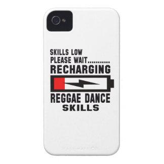 Amor de la paz y danza del reggae iPhone 4 Case-Mate cobertura