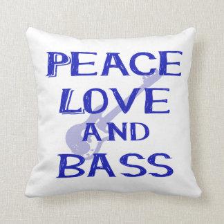 amor de la paz y guitarra azul del bernice w del cojín