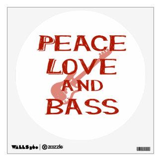 amor de la paz y guitarra roja del bernice w del