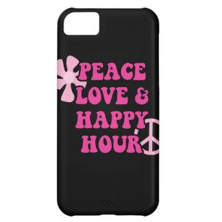 Amor de la paz y hora feliz
