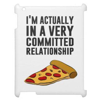 Amor de la pizza de salchichones - una relación se