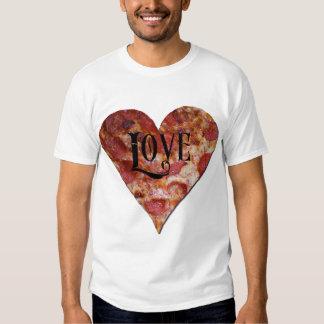 Amor de la pizza del el día de San Valentín Playera