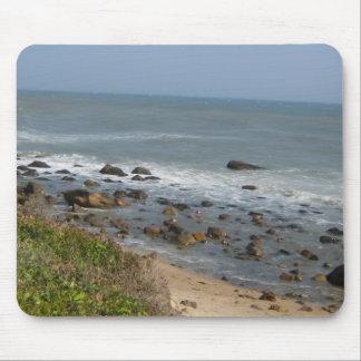 Amor de la playa de Montauk Alfombrillas De Ratones