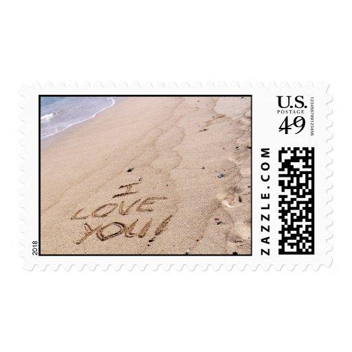 Amor de la playa sello