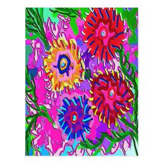 Amor de la primavera para usted - romance vibrante tarjetas postales