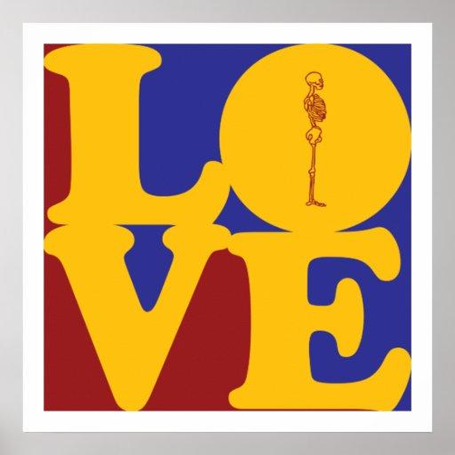 Amor de la quiropráctica póster