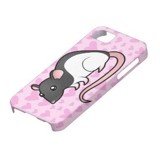 Amor de la rata iPhone 5 fundas