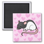 Amor de la rata imán para frigorifico