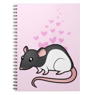 Amor de la rata libro de apuntes