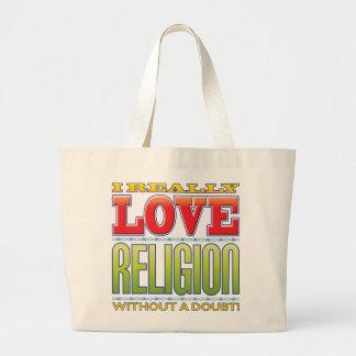 Amor de la religión bolsas