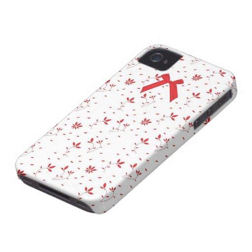 Amor de la ropa interior: Arco rojo - caso del iPh iPhone 4 Carcasa