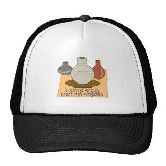Amor de la rueda para la cerámica gorros
