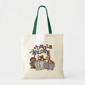 Amor de la selva bolsas de mano