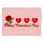 Amor de la tarjeta del día de San Valentín