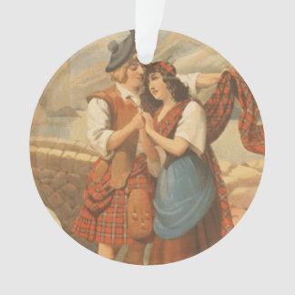 Amor de la tela escocesa de la CAMISETA