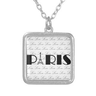 Amor de la torre Eiffel de París Pendiente Personalizado