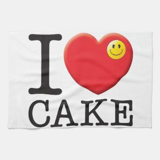 Amor de la torta toallas de cocina