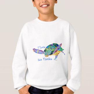 Amor de la tortuga de mar una tortuga poleras