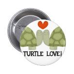 Amor de la tortuga pins