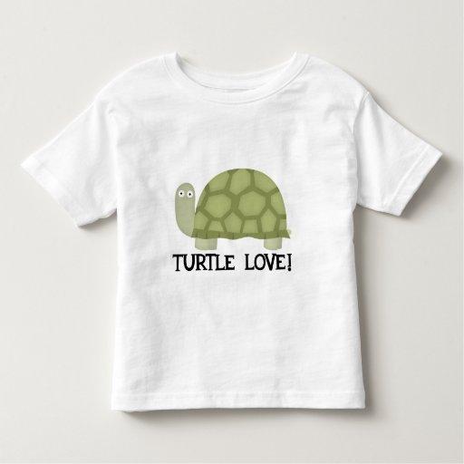 Amor de la tortuga t-shirt
