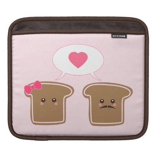 Amor de la tostada de Kawaii Mangas De iPad