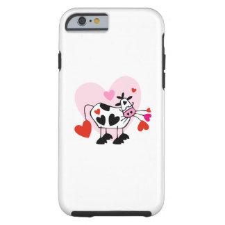 Amor de la vaquera funda de iPhone 6 tough