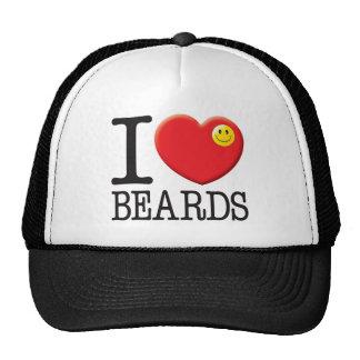 Amor de las barbas gorro de camionero