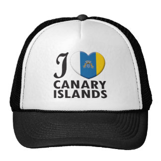 Amor de las islas Canarias Gorras De Camionero